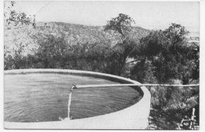 tanque provision de agua