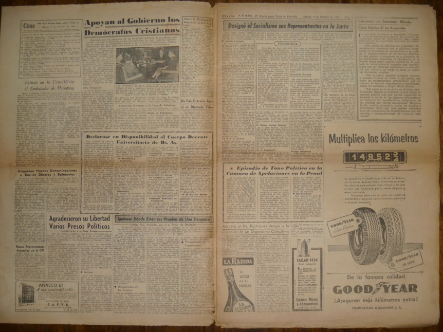 Clarin 1 de octubre del 55 (1)